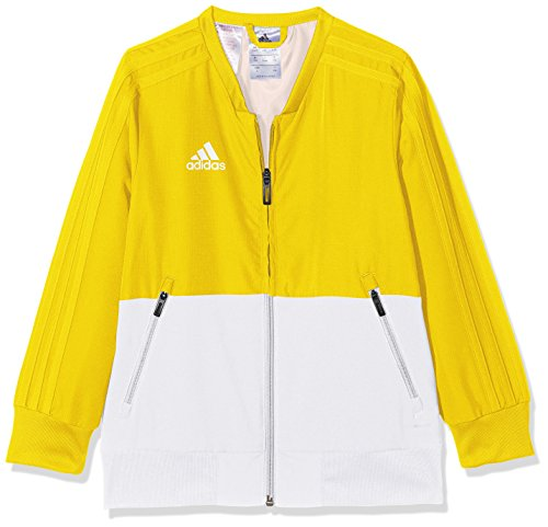 adidas Kinder CON18 PRE Jacket, Yellow/White, 13-14 Years (Jacket Yellow Kinder)