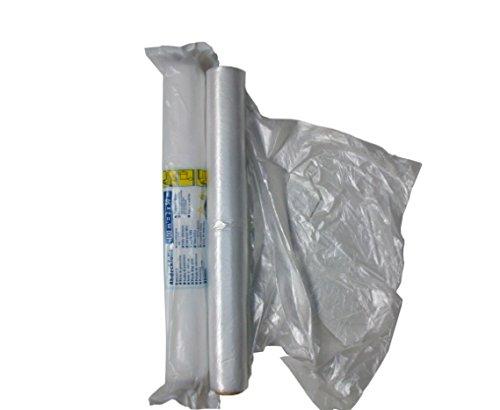 Preisvergleich Produktbild Abdeckfolie weiß 2m x 50m für Autolackierer und Malerarbeiten (100qm)
