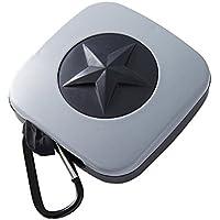 OUNONA Tragbare Faltbare Einkaufstasche Einkaufsbeutel Wiederverwendbare mit Aufbewahrungskoffer für Einkaufen Lebensmittel (Stern)
