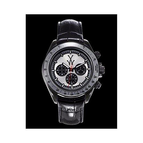 Orologio Toy Watch ToyGlass TGL07BK Al quarzo (batteria) Resina Quandrante Argento Cinturino Pelle