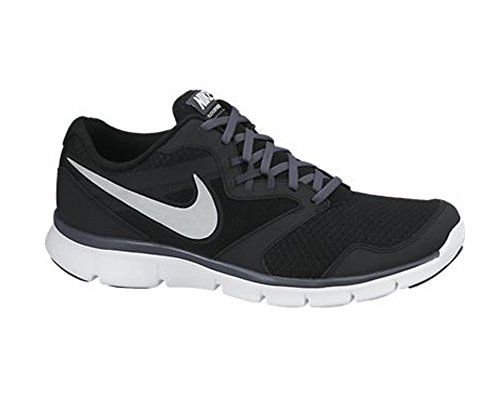 Flex Experience Rnmens Running Shoe Black/Dark Grey/White/Metallic Silver