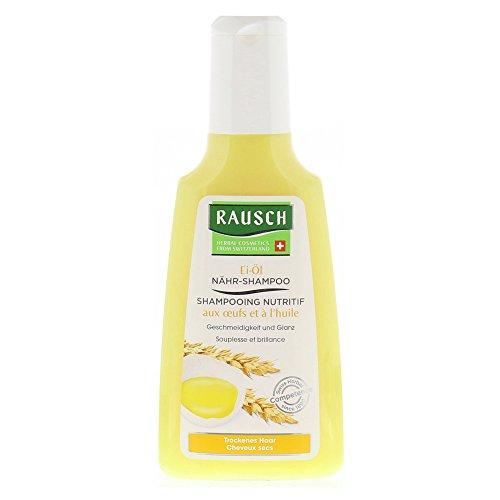 Rausch Ei-Öl Nähr-Shampoo (pflegt die trockene Haarstruktur, schenkt Geschmeidigkeit und Glanz ohne Silikone und Parabene), 1er Pack (1 x 200 ml)