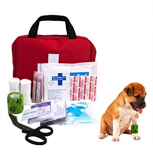 GYJ Kit Premium de Primeros Auxilios para Mascotas - Seguridad Productos de Seguridad de Emergencia, Cuidado Diario de los Perros, prepárese en Caso de Que su Mascota Tenga un accidente