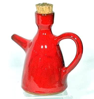 Genuine Terracotta 12l Oil Bottle - Savannah Red by Be-Active