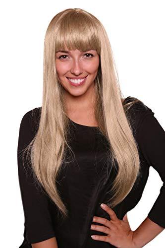 Perücke EISPRINZESSIN blond lang PONY femme fatal 3113-24