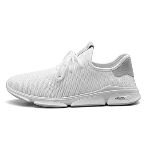 LOOK TWICE Men's White 1900 Casual Sneakers Shoes_7