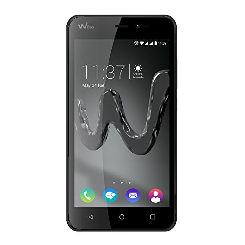 "Wiko - Freddy 4g 8gb 5"" black - Smartphone"