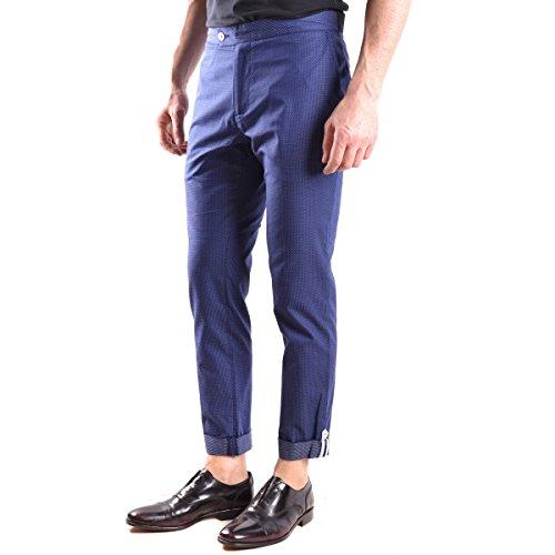 Pantalon Daniele Alessandrini Bleu