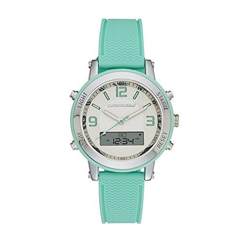 Skechers Women's SR6001 Analog-Digital Display Quartz Blue Watch