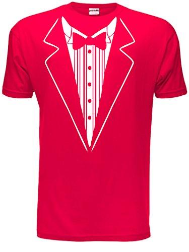 lustige Fliege Herren T-Shirt S-XXL (Fancy Dress Shirt)