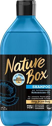 Nature Box Shampoo Kokosnuss-Öl, 3er Pack (3 x 385 ml)