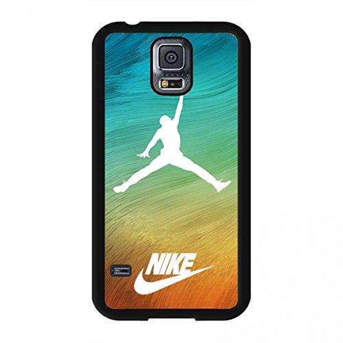Nike Cool Nike Air Jordan logo classic Logo–Teléfono móvil teléfono móvil Samsung Galaxy S5teléfono móvil, compatible con Samsung Galaxy S5, color multicolor
