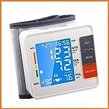 BABIFIS Medidor de tonómetro automático de Monitor de presión Arterial Digital de muñeca para medición y Pulso esfigmomanómetro de máquina