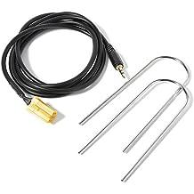 XCSOURCE® Coche entrada AUX 3.5mm Jack Adaptador Cable de cable MP3 iPod Móviles + 2 teclas de radio para Alfa Fiat Lancia AC366