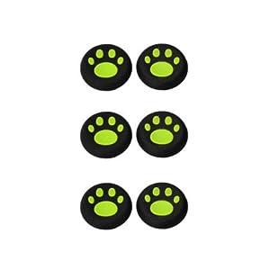 OSTENT 6 x bunte Analog Joystick Button Protector kompatibel für Xbox One Controller – Farbe Grün