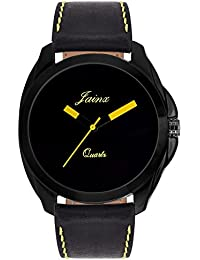 Jainx Black Dial Analog Watch For Men & Boys - JM236
