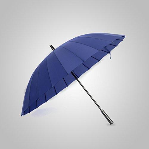 Guo Nuovo 24 Bone Shank Ultra Ombrello creativo Uomini gambo lungo Ombrello Affari ombrello ombrellone