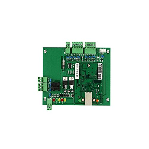 Sharplace Wiegand TCP / IP Network Entry Access Control Board Controller Panel + CD - 12x12 Access-panel