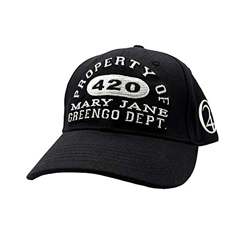 Lauren Rose Mary Jane 420 Greengo Department Baseball Cap Snapback