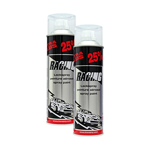 Preisvergleich Produktbild 2x KWASNY 288 917 AUTO-K RACING 2-Schicht-Klarlack 500ml