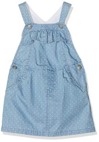 ESPRIT KIDS Baby-Mädchen Rp2800107 Dungarees Skirt Rock, Blau (Blue Light Wash 415), (Herstellergröße: 86)