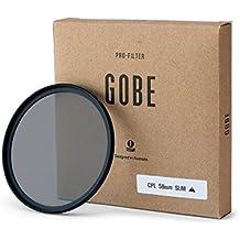 Gobe - Filtro Polarizzato Slim CPL 58mm Japan Optics
