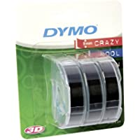 DYMO 3D label tapes - Cintas para impresoras de etiquetas (ampolla, 9 mm, 3 m)