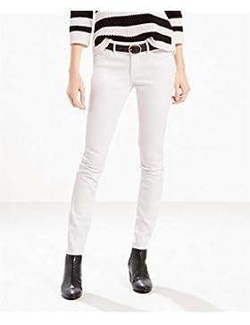Pantalon Levis 711 Skinny Western White