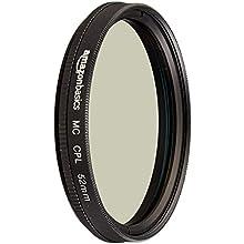 AmazonBasics Circular Polarizer Filter - 52 mm