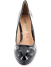 Buffalo H748-1 P1236S - zapatos de tacón cerrados de material sintético mujer