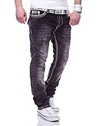 MT Styles Jeans Straight-Fit pantalon homme RJ-3213
