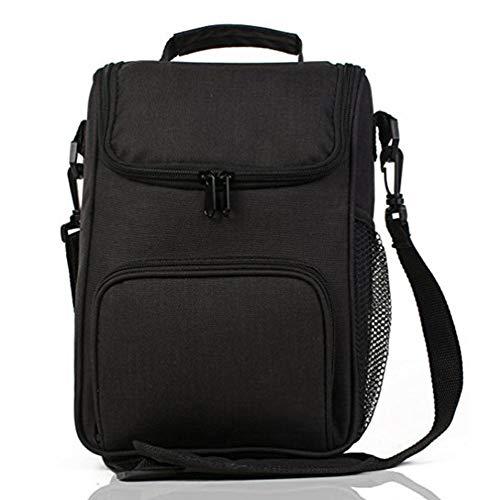 SchöN 4 Farbe Lebensmittel Tasche Mittagessen Tasche Striped Zipper Tragbare Wasserdichte Leinwand Mittagessen Taschen Für Frauen Isolierung Lunch Paket # H15 Gepäck & Taschen Mittagessen Taschen
