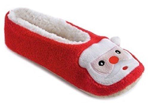 SlumberzzZ, Pantofole donna Babbo Natale