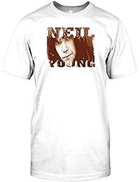 Neil Young Folk Rock Legend Mens T Shirt
