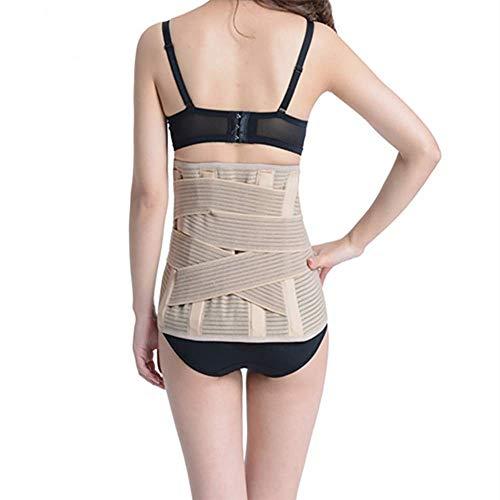 HYD Taillen-Trainer-Gürtel für Frauen, atmungsaktiver Schweißgürtel Taille Cincher Trimmer Body Shaper Gürtel Fat Burn Belly Slimming Band für Gewichtsabnahme Fitness Workout,L (Gürtel Fat Belly)