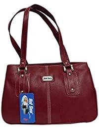 Adiari Fashion Red Coloured Stylish Handbag For Women