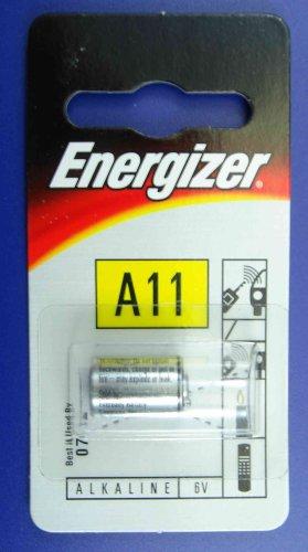 ENERGIZER 6 VOLT BATTERIE A11 A 11 E11A GP11 NEU 6v-energizer