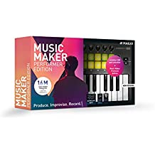 Magix UK Music Maker - 2019 Performer Edition - Music Maker Premium Edition + USB pad controller.|Standard|1 Device|Limitless|PC|Disc