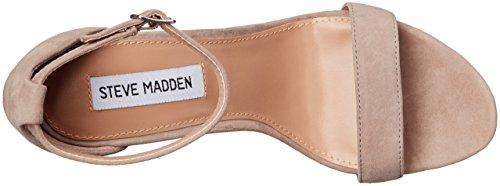 Steve Madden Carrson Femmes Daim Sandales gris (daim taupe)
