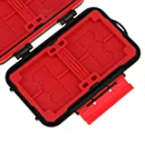 #10: World of Needs Lynca KH8S Memory Card Waterproof Storage Case Box Holder for Camera XQD CF SD TV Card Pin SIM