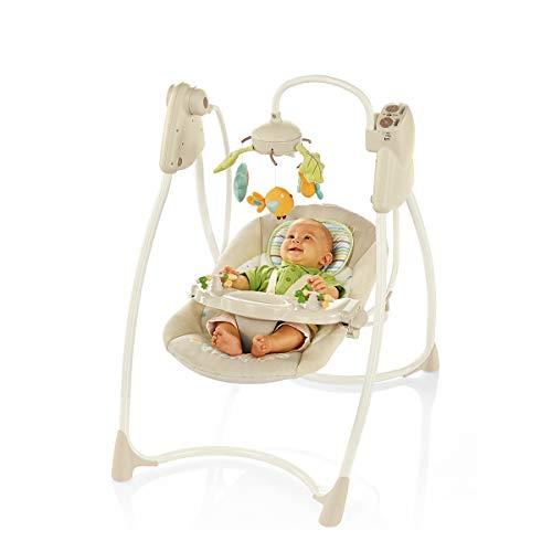 Brevi Althea Interior Hamaca para bebés 1Asiento(s) Beige - columpios para bebés (Hamaca para bebés, 9 kg, Interior, Asiento giratorio para columpio, 1 Asiento(s), Beige)