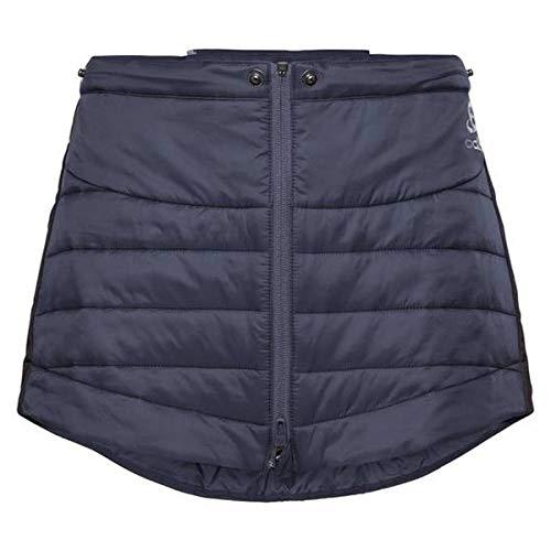 Odlo Damen Skirt Flow Cocoon ZW Rock, Odyssey Gray - Black, S - Black Running Rock