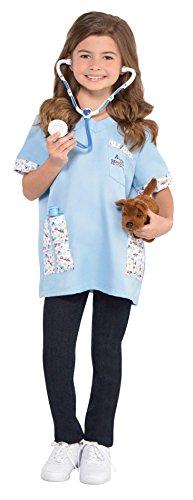 Enter-Deal-Berlin Kinderkostüm - Tierarzt - Größe 110 cm ( 4-6 Jahre )