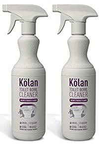 Kolan Organic Eco-Friendly Toilet Bowl Cleaner 700 ML (Suitable for all Types of Toilet Bowls and Urinals) - 2 Packs Combo