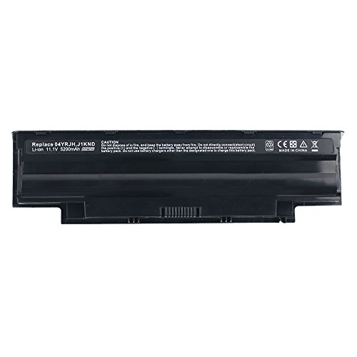 Exxact Parts Solutions Laptop Battery for Dell Inspiron 3420 3520 13R 14R 15R 17R N5110 N5010 N4110 N4010 N3010 17r-N7110 17r-N7010 M5110 M4110 M501 M503 J1knd 4t7jn [Li-ion 11.1V 5200mAh 6 Cell]