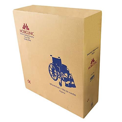 41T9tCZXskL - Mobiclinic, Velero, Silla con WC o inodoro para discapacitados, minusválidos, ancianos, Plegable, Reposabrazos, Asiento ergonómico, Conteras antideslizates
