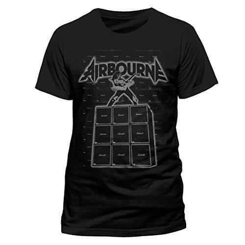 Airbourne -  T-shirt - Uomo Black XX-Large