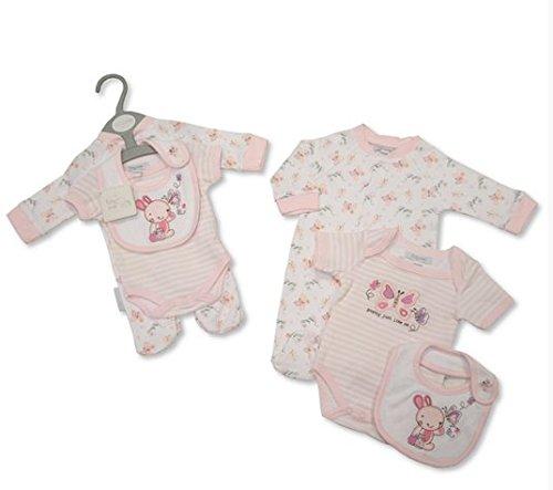 Tiny bébé Ensemble de 3 tailles Petit bébé (3–2,3 kilogram) et nouveau-né (5–3,6 kilogram)