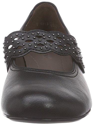Jenny Catania, Chaussures à talons - Avant du pieds couvert femme Noir - Schwarz (schwarz 10)