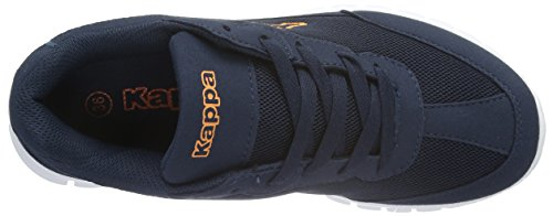 Kappa Rocket, Baskets Basses Mixte Adulte Bleu - Blau (6744 navy/orange)